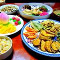 お盆の料理(精進料理)「普茶料理」
