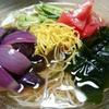 レモン風味の野菜たっぷり素麺