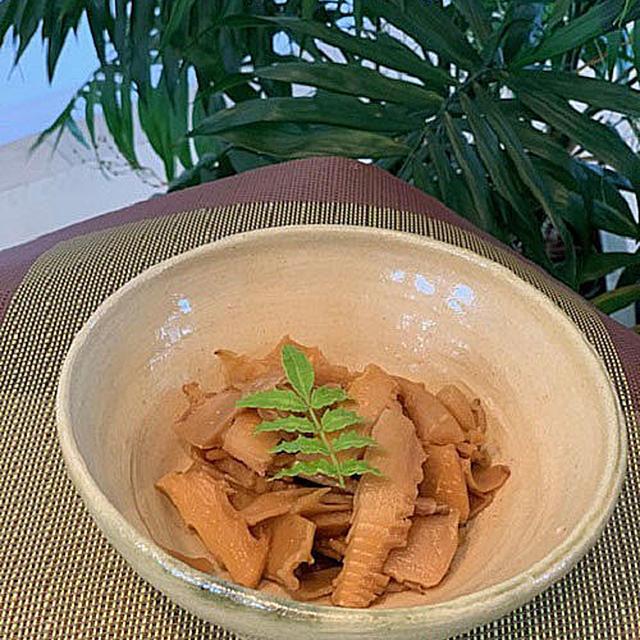 スィーツ作りは久しぶりの栗のテリーヌ・・筍救済でシャキシャキメンマ作り