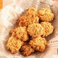 【お気に入りレシピ】オートミールとココナッツのざくざくクッキー