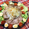 煮豚のサラダ