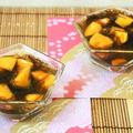 スーパークイックメニュー♪柿とモズクの酢の物