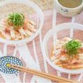 日本酒に合う料理①「長芋の梅ワサビ浸し」