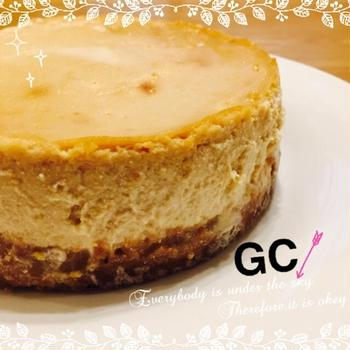 ベイクドチーズケーキみたいなお豆腐ケーキ☆