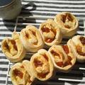 金柑ジャムのちぎりパン:米粉使用
