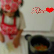 年長さん5歳長女Ricoお料理、ダンスレッスン、だるまちゃん。