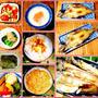 今朝は卵かけご飯で和定食