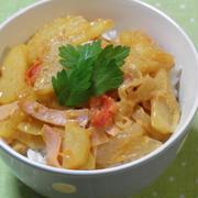 じゃがいもとチーズのイタリアン丼☆ by snow kitchen☆ さん