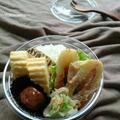 お弁当に〜節約もやレタちくわの桜えびクリーム(作りおき)〜 by YUKImamaさん