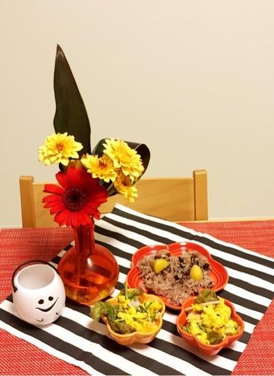 花と料理で楽しむ♪ハッピーハロウィン(その2)