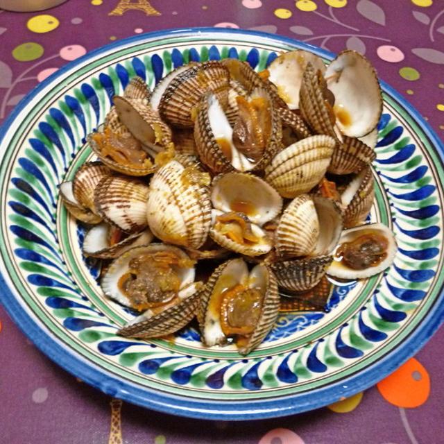 さるぼう貝≒赤貝のさっと煮