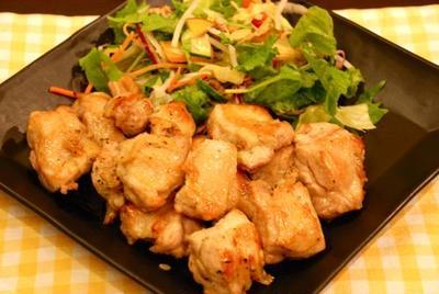 鶏もも肉の塩ハーブ焼き、夏休み突入~