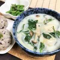 作りおき冷凍野菜とスキムミルクで簡単ミルクスープ