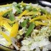 カリカリ豚×カリカリスパイスの白菜蒸し