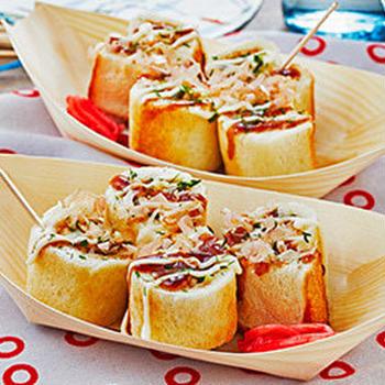 パンを使って♪お家で夏祭りレシピ♪