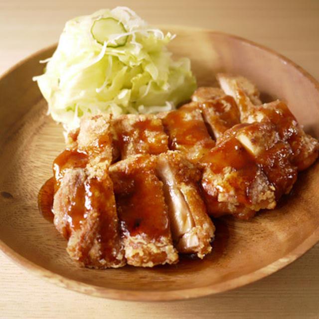 鶏の竜田揚げ with甘だれ