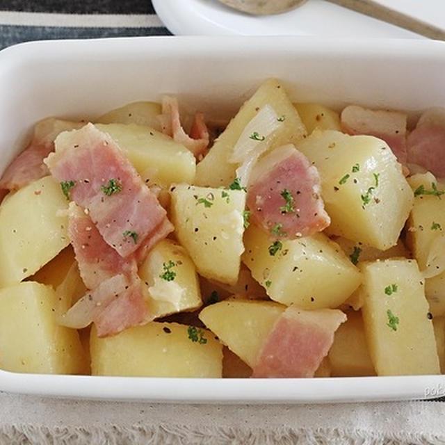 ベーコンの旨み!塩肉じゃが|今日の作りおき+冷蔵庫