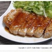 生姜風味なポークソテー