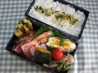 7月30日(月) 焼き鮭弁当