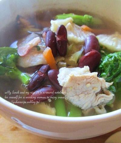 ☆部 週末デトックスの干し野菜スープ