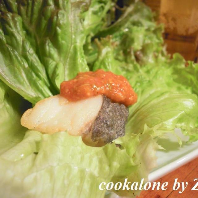 韓国ダレで鱈のから揚げ