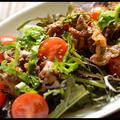 グリルビーフのタバスコ風味サラダ