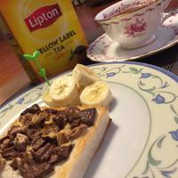 リプトン イエローラベル ティーバッグと楽しむひらめき朝食☆