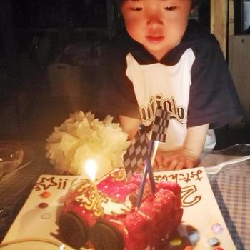 入学式 & 2歳のお誕生日☆