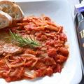 豚肩ロースのトマト煮「ピッツァオーラ(ピザ職人風)」~CARNE ALLA PIZZAIOLA~
