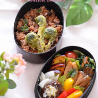 山菜と筍で春を満喫マイ弁当(#^^#)