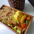 12月10日 五目ご飯とカニのお味噌汁のお弁当