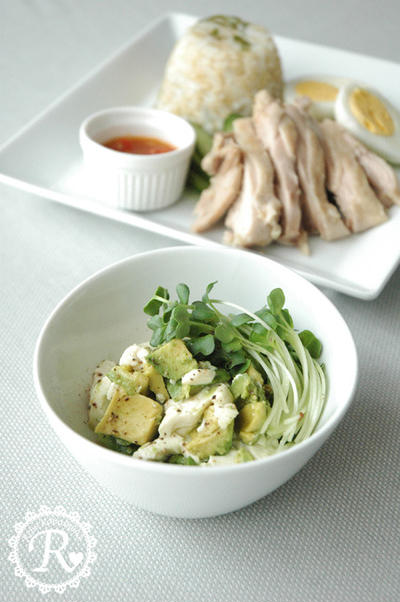 アボカド豆腐。
