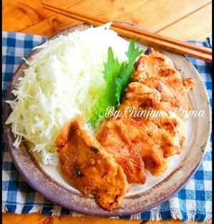 簡単/低コスト【しっとり柔らか】胸肉のまるで味噌漬け?な生姜焼き
