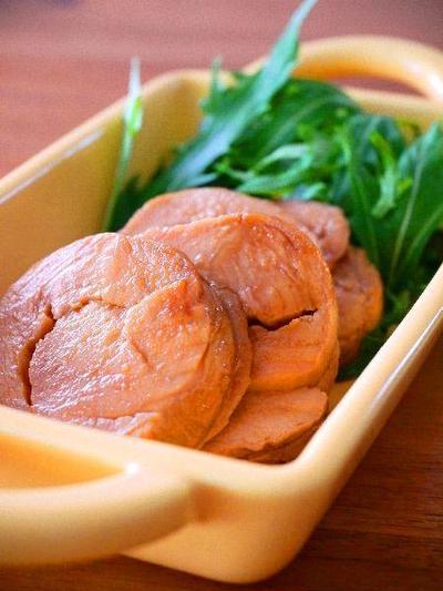 炊飯器で作る♪しっとり鶏むねチャーシュー。簡単おつまみ家飲みレシピ