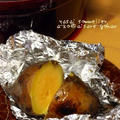 とろける美味しさ♪「安納芋*蒸し焼き芋」(ストウブ鍋、ダッチオーブン、無水調理鍋)
