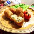 残った唐揚げで楽チン☆スパイシーポテトコロッケ☆ハウス香りソルト<4種のペパーミックス>