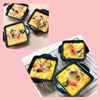 ❤️簡単&ヘルシー 豆腐キッシュ❤️