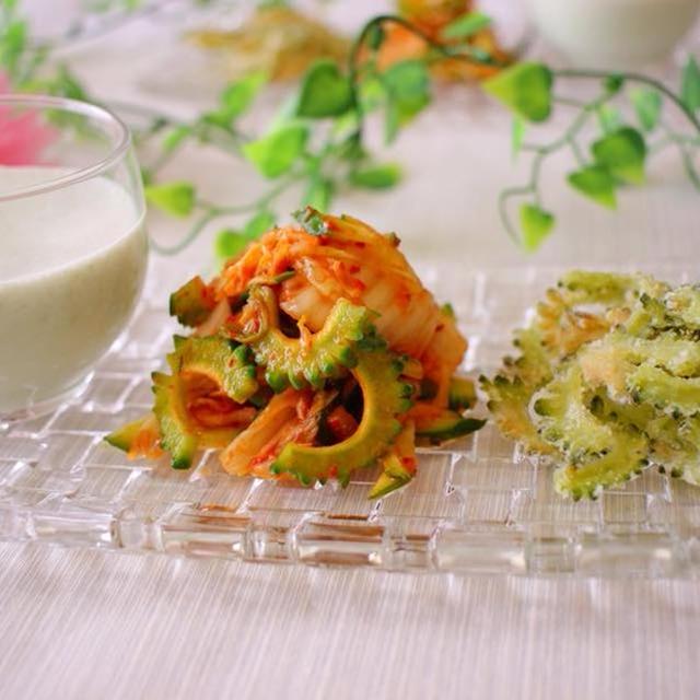 ゴーヤの苦味が減る調理法ご紹介!ゴーヤづくしのおつまみ&ゴーヤでフレッシュジュース