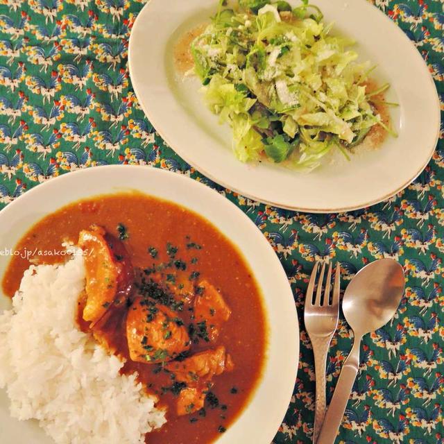 Chicken curry。