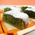 トースターde焼く!混ぜるだけの抹茶ガトーショコラ by 銀木さん
