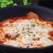 豚肉のトマトチーズ焼き♪