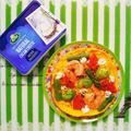 低糖質!春野菜のオープンオムレツ