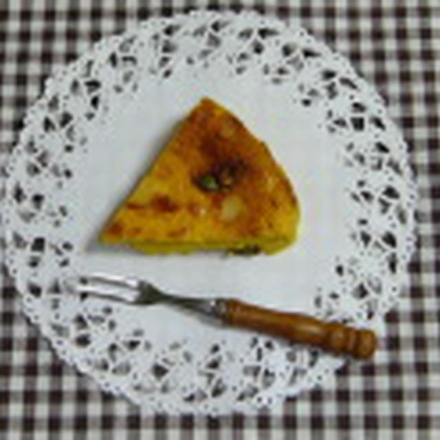 ノンオイル!かぼちゃのチーズケーキ