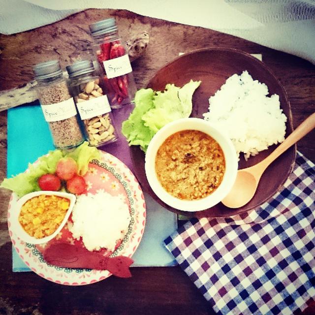 スパイスで作る子どもキーマカレー レシピ