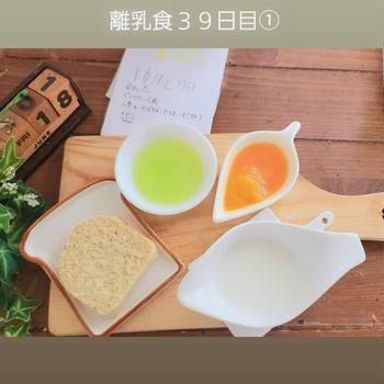 【たけちん離乳食7週目記録~乳製品デビュー】
