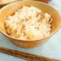 【モニター】秋の味♪魚醤が香る2種きのこの炊き込みごはん