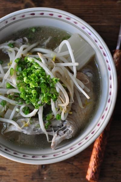 大根と手羽先のスープ