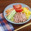 令和初!冷やし中華はじめました~トマトとチャーシューの五色冷麺~ by KOICHIさん