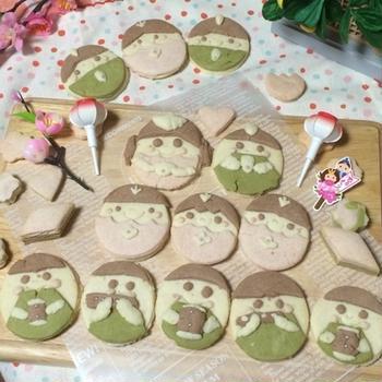ひなまつりクッキー(^^)