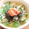 辛子明太子茶漬け レシピ